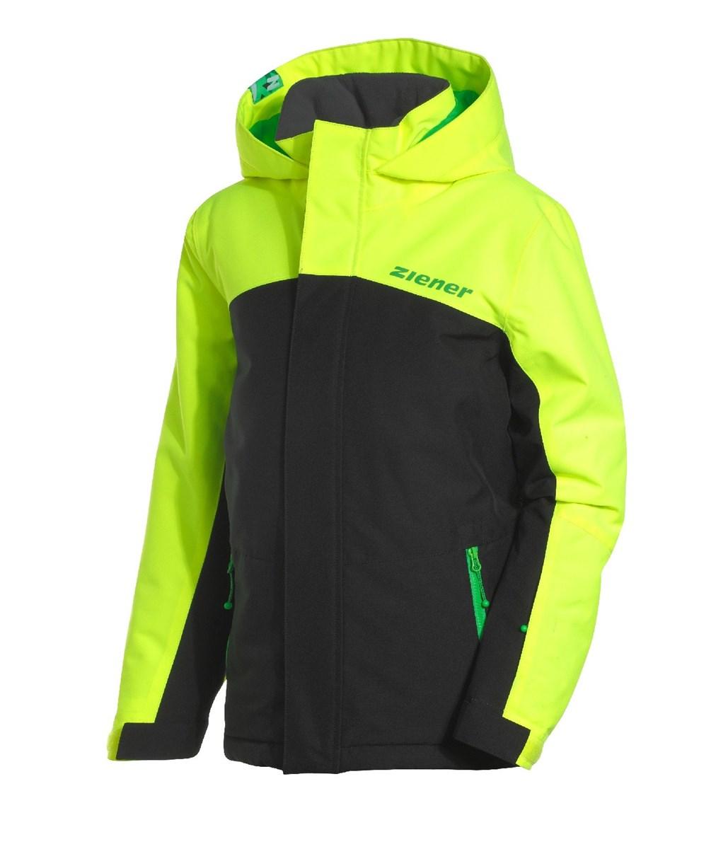 5f108ff4e Ziener Aladin Boys Ski Jacket Black