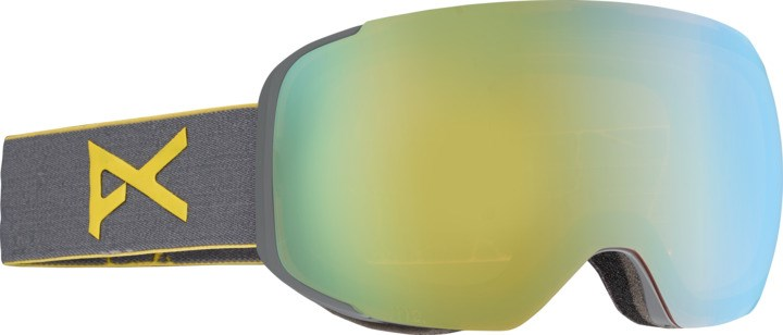 03f9dad38504 Anon M2 Ski Goggles Grey Gold Chrome With Spare Lens. 0 (Be the first to  add a review!)