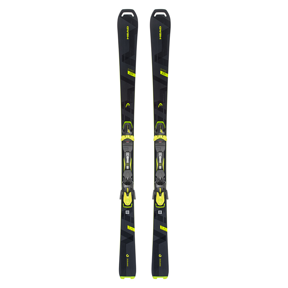 Head super joy ladies piste skis with joy gw slr bindings