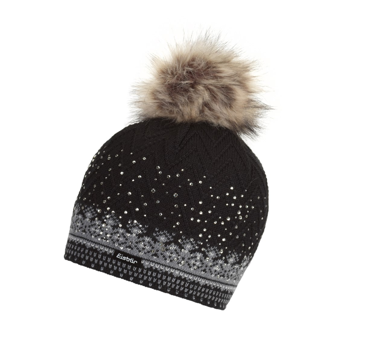 1c4f0cc6c04 Eisbar Connor Lux Ladies Crystal Hat Black. 0 (Be the first to add a  review!)