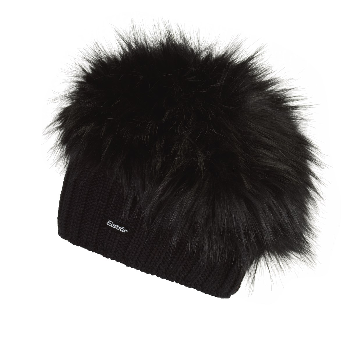 Eisbar Trapper Faux Fur Merino Hat Black. 0 (Be the first to add a review!) 99a9fe14e51b