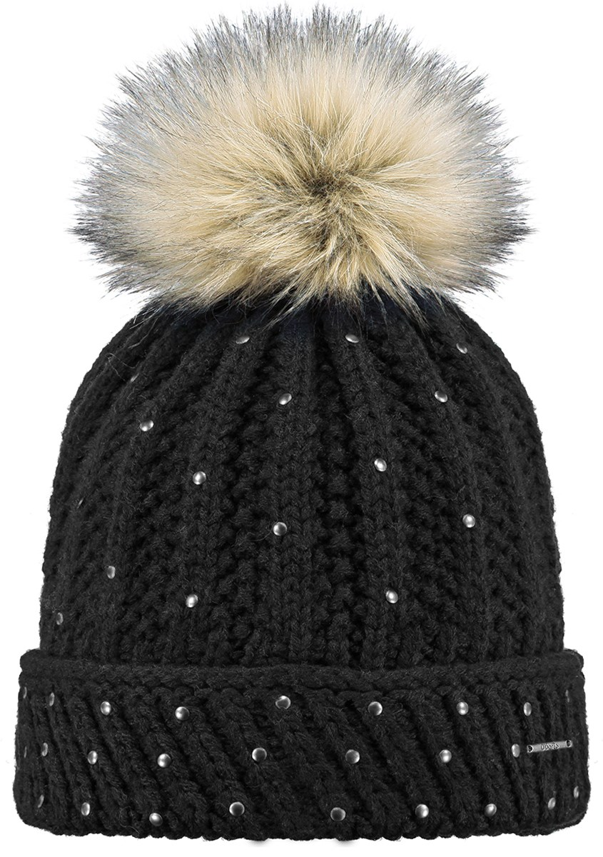 Barts Freesia Girls Pom Pom Beanie Black. 0 (Be the first to add a review!) 833342f50be