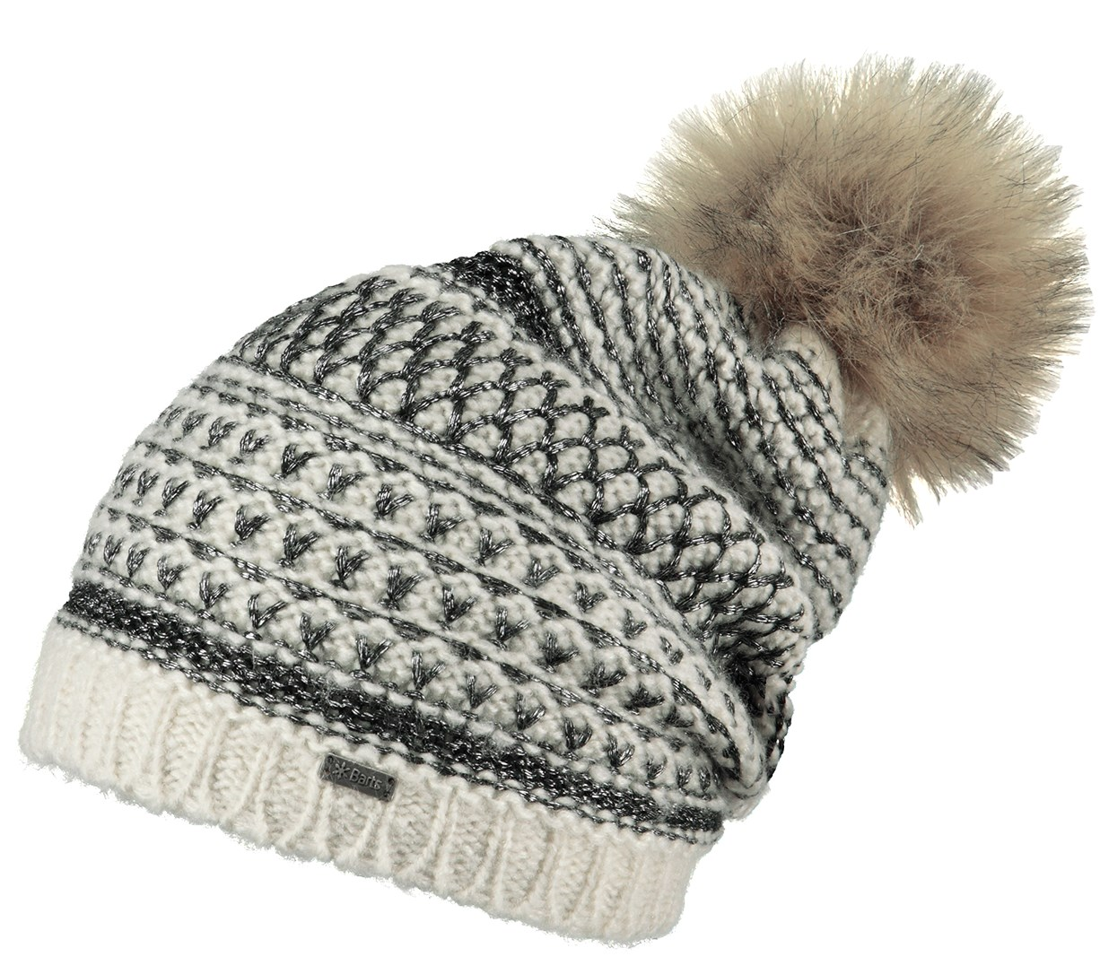 c035658e2aa Barts Aurora Ladies Pompom Beanie Mascarpone. 0 (Be the first to add a  review!)