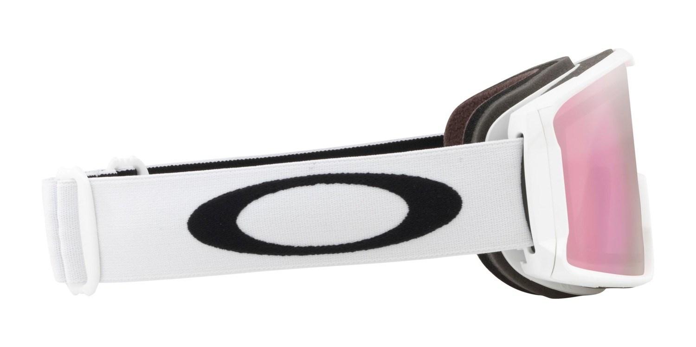 bb9d772e71e9 Oakley Line Miner Ski Snowboard Goggles 2019 White Matt Prizm HI Pink