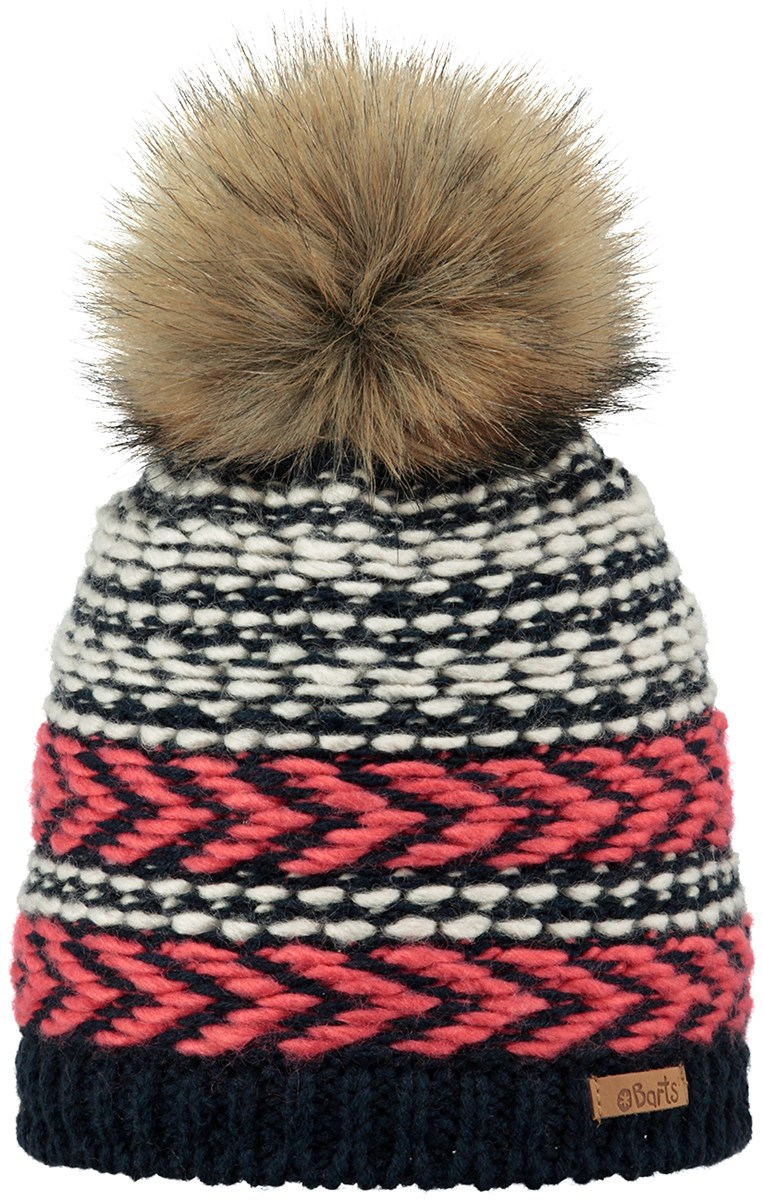 dac0b22eee3e Barts Medea Junior Girls Pompom Beanie Navy. 0 (Be the first to add a  review!)