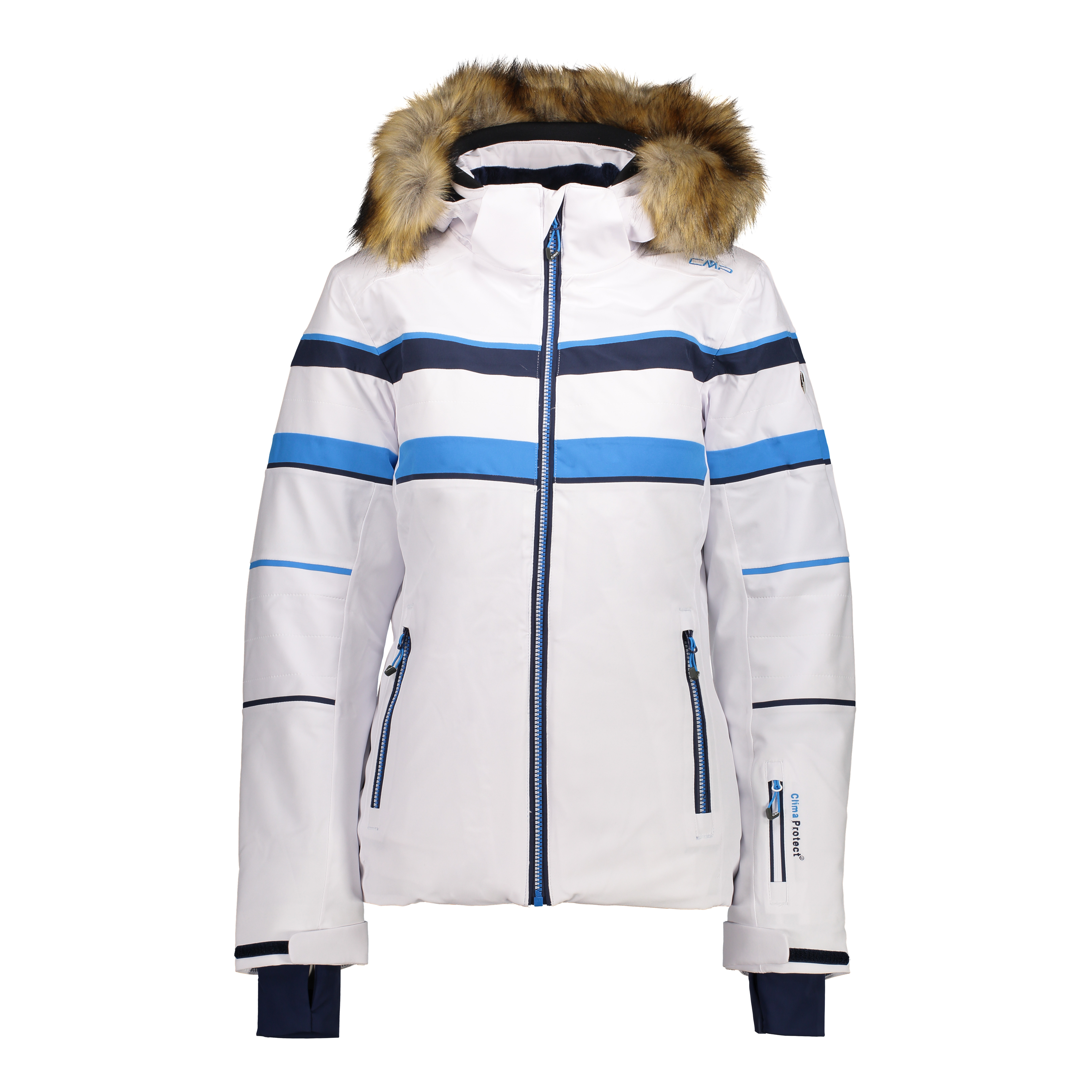 4582fd2a8b CMP Campagnolo Aven Ladies Insulated Fur hood Ski Jacket £160.00