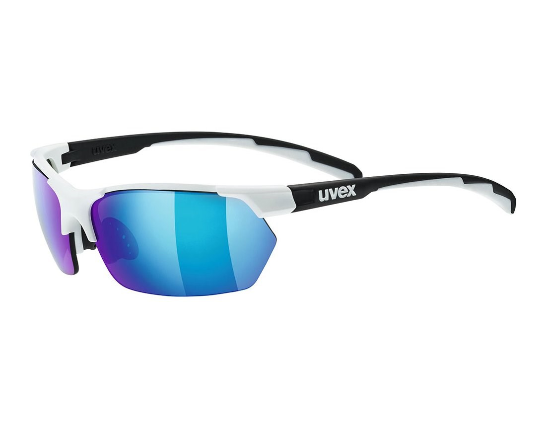 cf509618b8f Uvex Sportstyle 114 Sunglasses 2019 White Black  Blue Lens. 0 (Be the first  to add a review!)