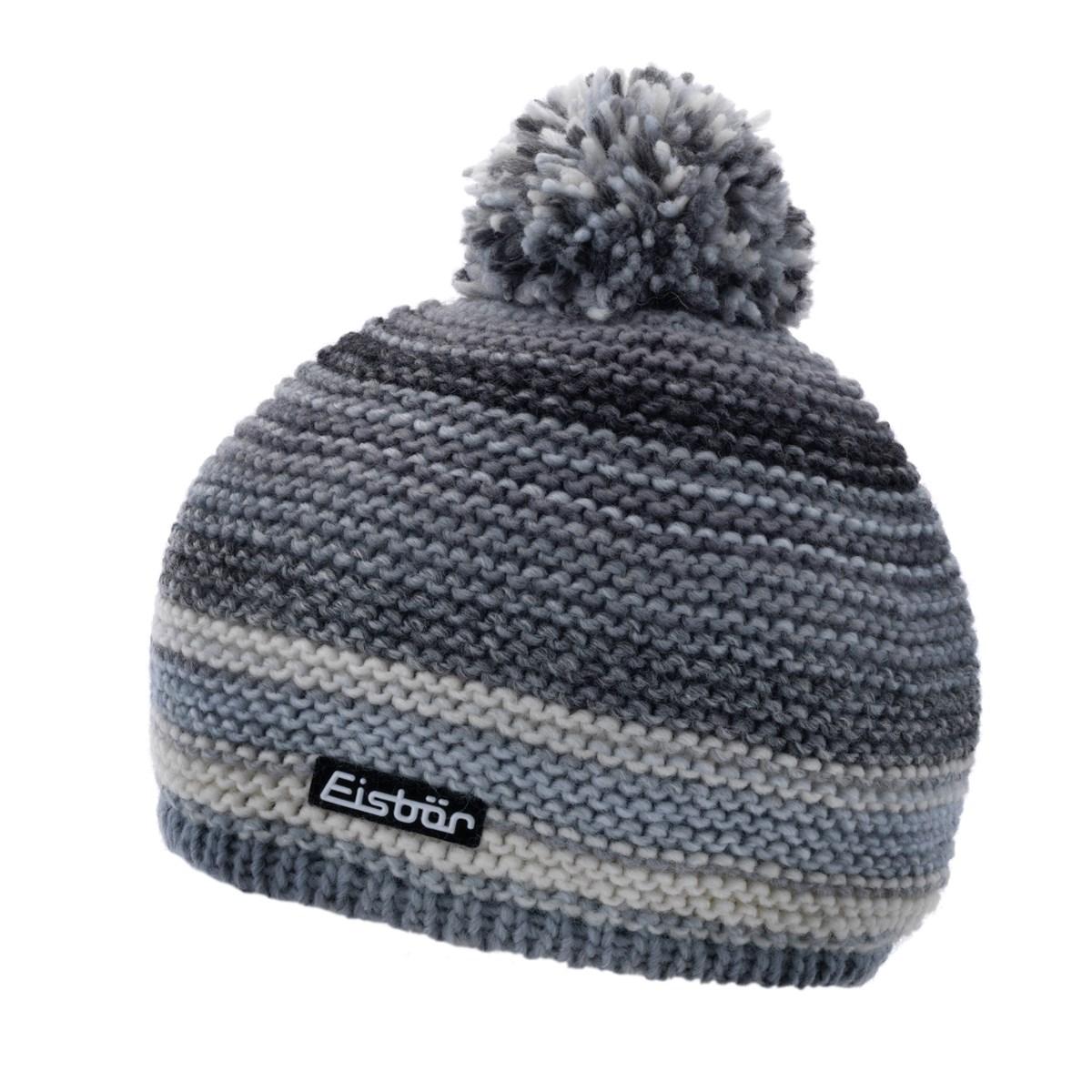 97689ec33 Eisbar Kunita Ladies Pompom Hat Stone
