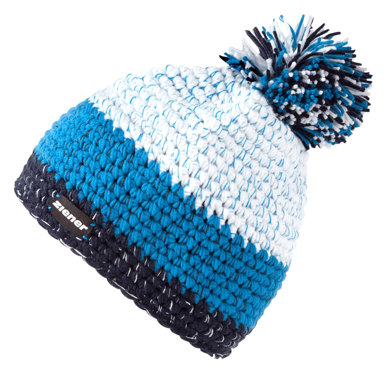 e9b51c652f079 Ziener Intercontinental Mens Beanie Bobble Hat 2019 Blue Navy. 0 (Be the  first to add a review!)