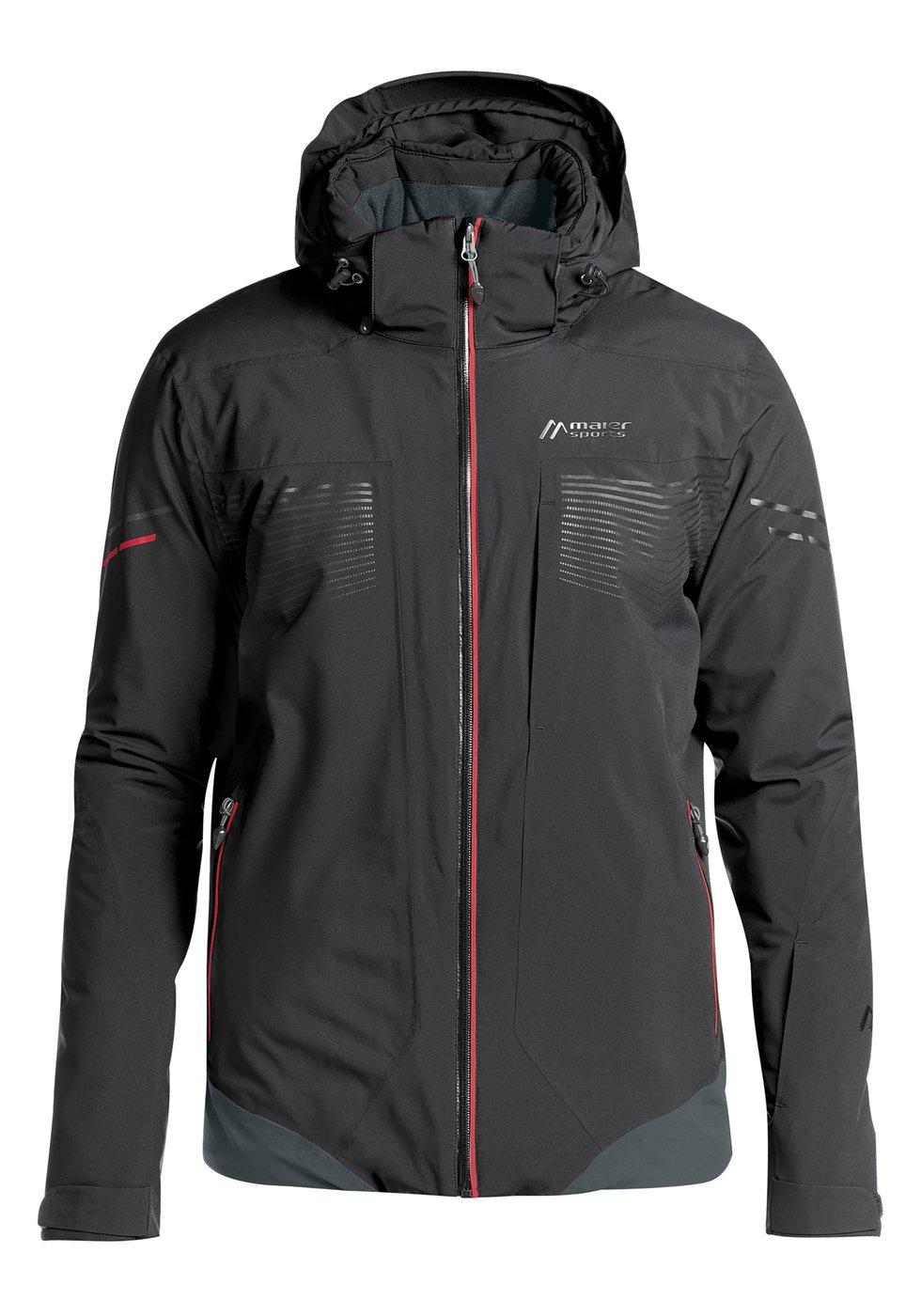 Maier Sports Pralongia Mens Ski Jacket 2019 BlackSalsa