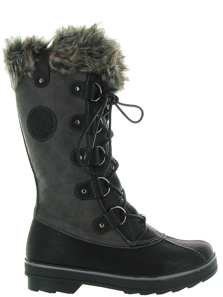 pretty nice outlet store the sale of shoes Kimberfeel Beverly Ladies Snow Boots 2019 Black