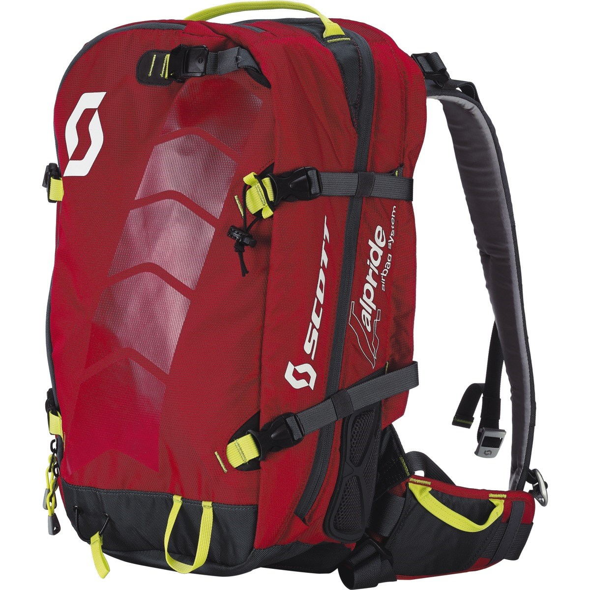 Scott AirFree Alpride 30 Avalanche Airbag System Red Grey £420.00 49683a447bec4