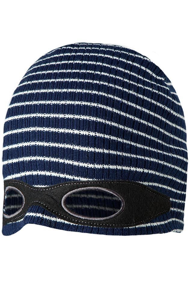 9726bcd36 Barts Disguise Boys Kids Mask Beanie Hat Navy