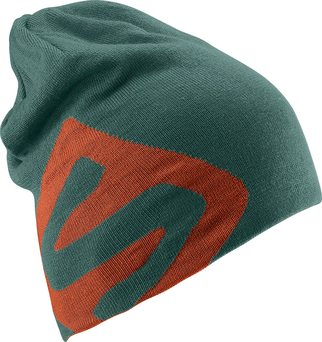 83d0f721d31 Salomon Flat Spin Reversible Beanie Ivy Green Orange. 0 (Be the first to  add a review!)