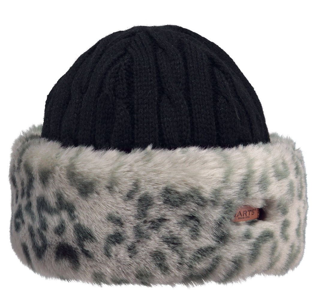 0e90584574e Barts Fur Cable Ladies Bandhat Grey Leopard. 0 (Be the first to add a  review!)