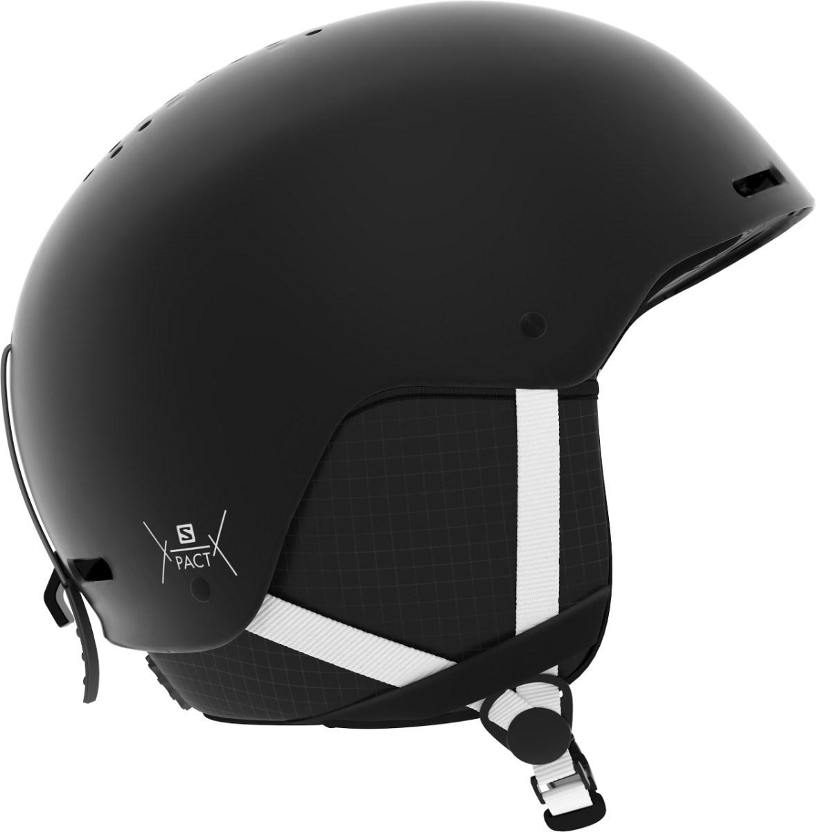 9c15b90125 Salomon Pact Junior Kids Ski Helmet 2019 Black/White