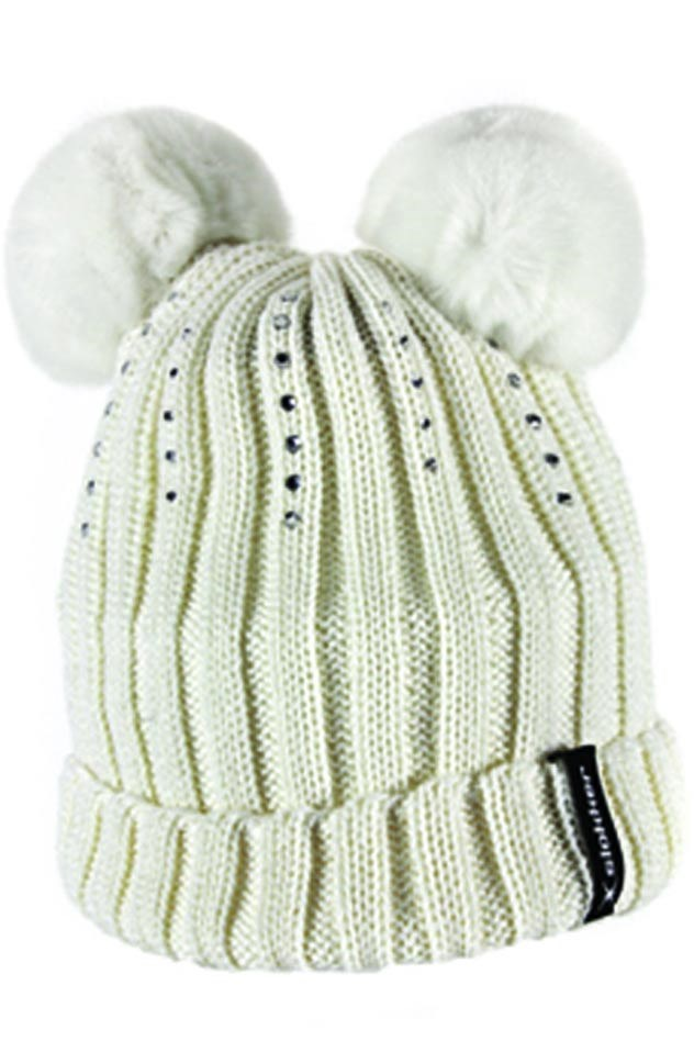 Slokker Lucy Girls Fur Pom Pom Hat White. 0 (Be the first to add a review!) 98cf86ea35c