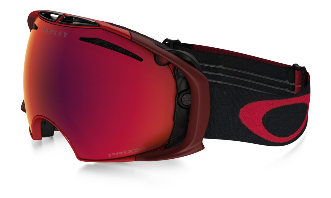 f5b99d41b6b Oakley Airbrake Ski Goggles Obsessive Lines Red Prizm Torch Prizm Rose. 0  (Be the first to add a review!)