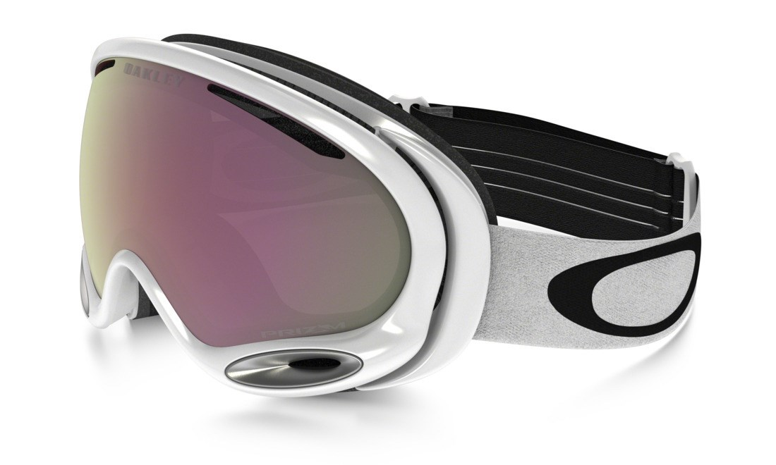 0fea2fbef87 Oakley A Frame 2.0 Ski Goggles Polished White Prizm HI Pink. 0 (Be the  first to add a review!)