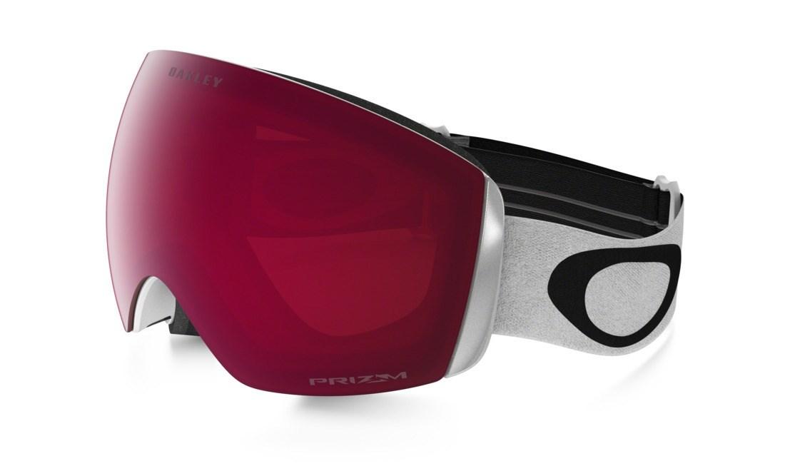 Oakley Flight Deck Xm Ski Goggles White Prizm Rose 163 145 00
