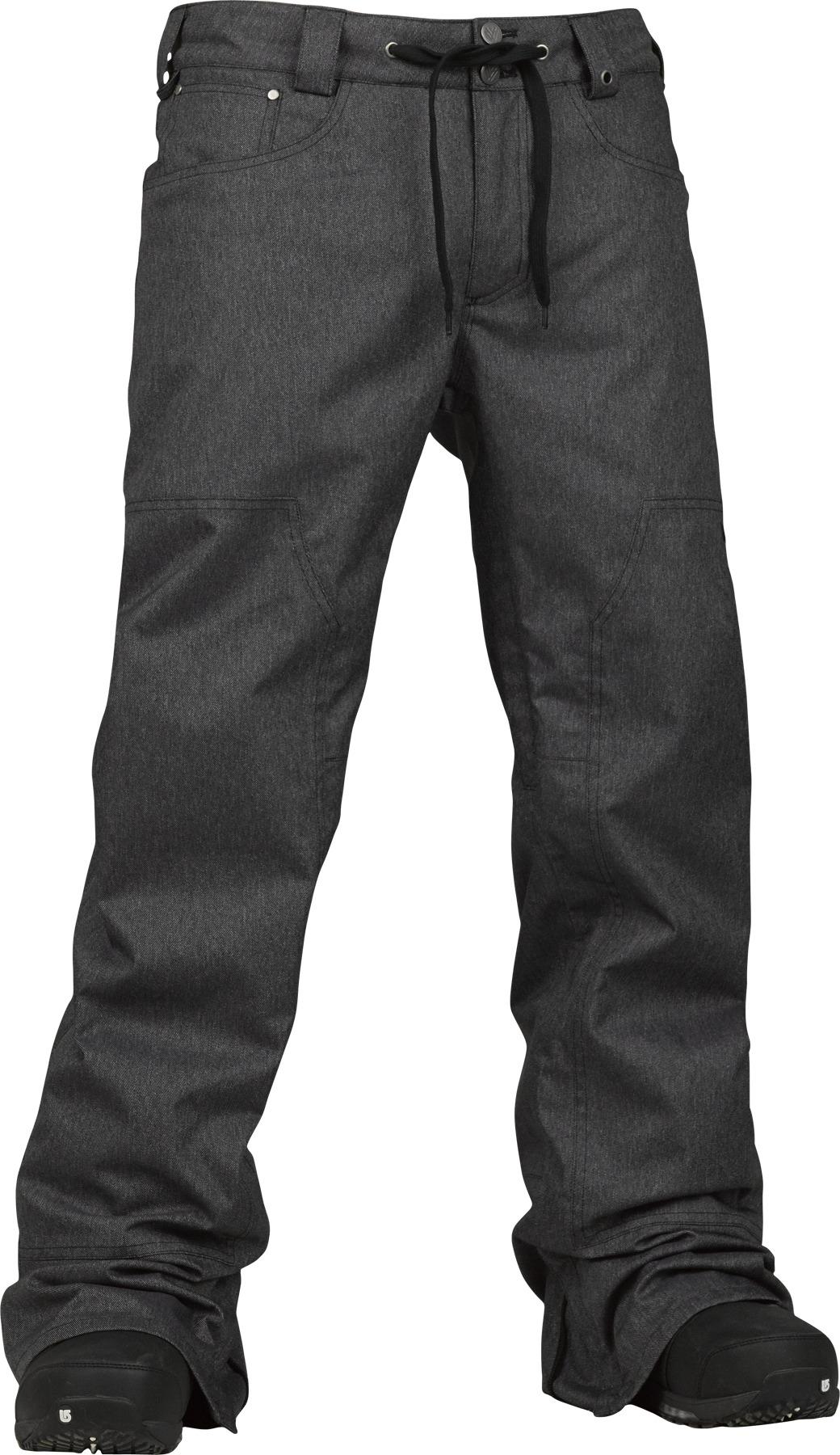 caac87b1606 Burton Greenlight Pants True Black Denim £91.00