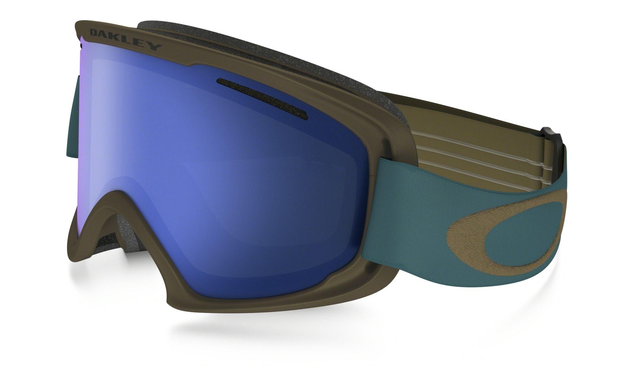 dfbe8f1d85 Oakley 02 XL Ski Goggles Copper Aurora Blue Black Ice Iridium £80.00