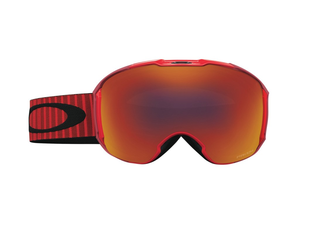 c81026cc4a9 Oakley Airbrake XL Goggles Obsessive Red Prizm Torch Prizm Rose £215.00
