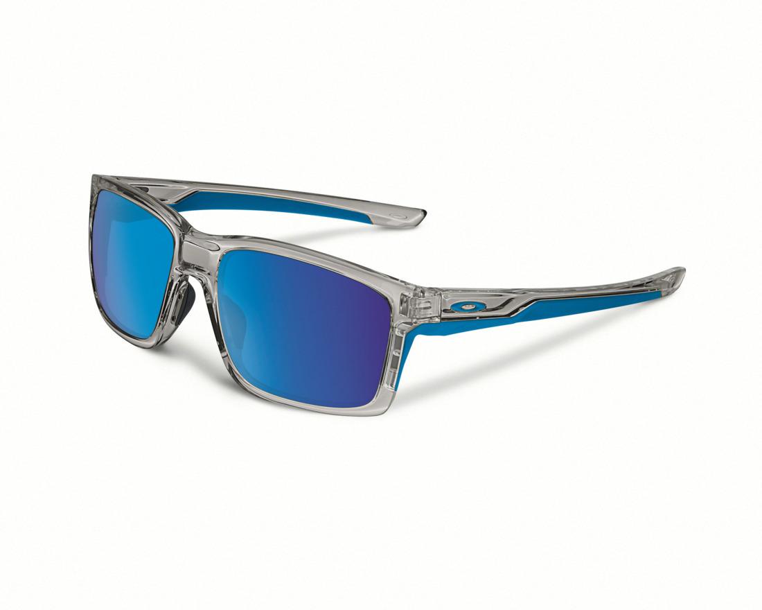 5df47c80b92 Oakley Mainlink Sunglasses Grey Ink Sapphire Iridium Lens £130.00