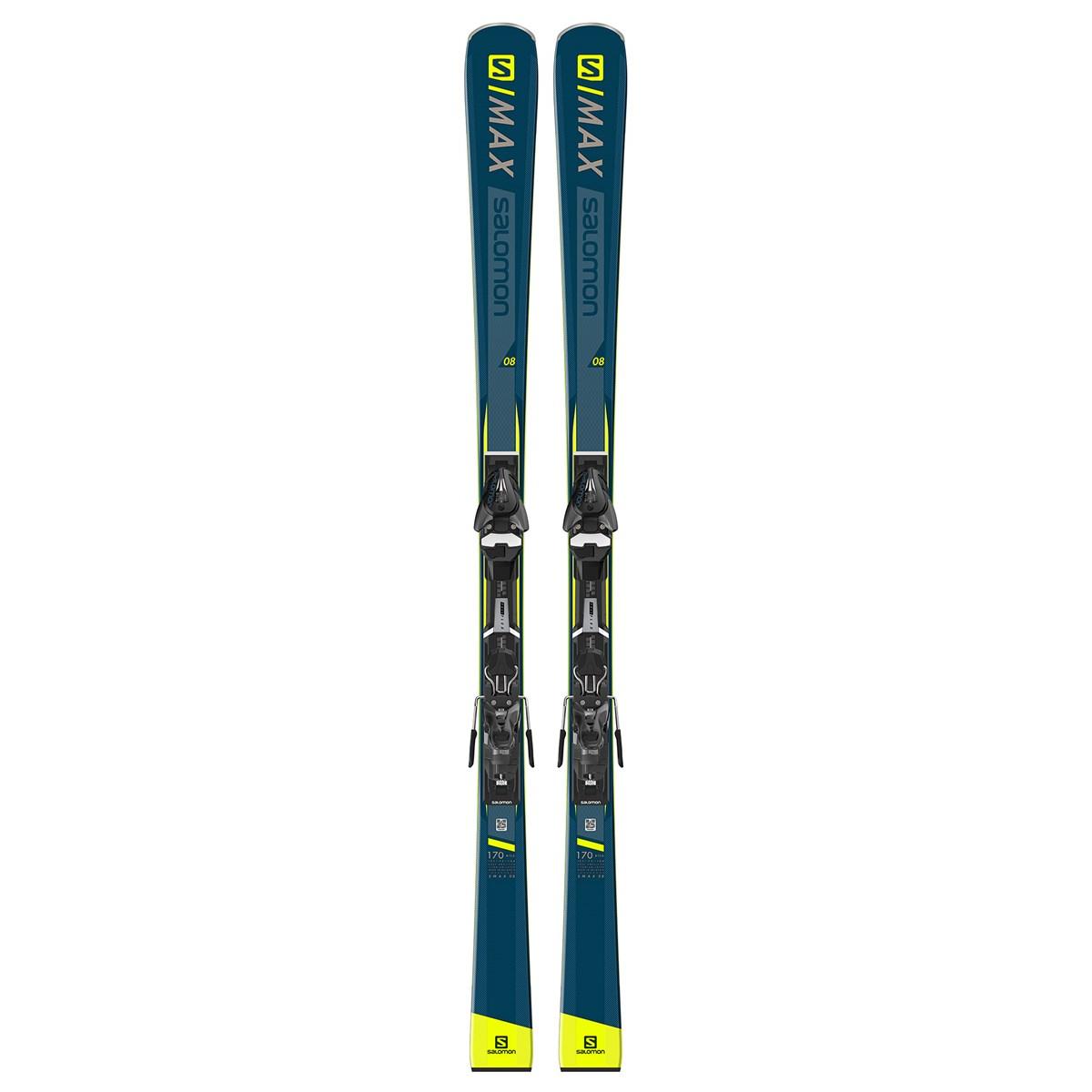 232c0c37 Salomon S/Max 8 Mens 2019 Piste Skis with Mercury 11 Bindings