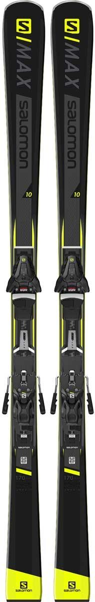 8bfb2f89ad4 Salomon S/Max 10 Mens Piste Skis 2019 with Z12 Bindings £500.00 salomon