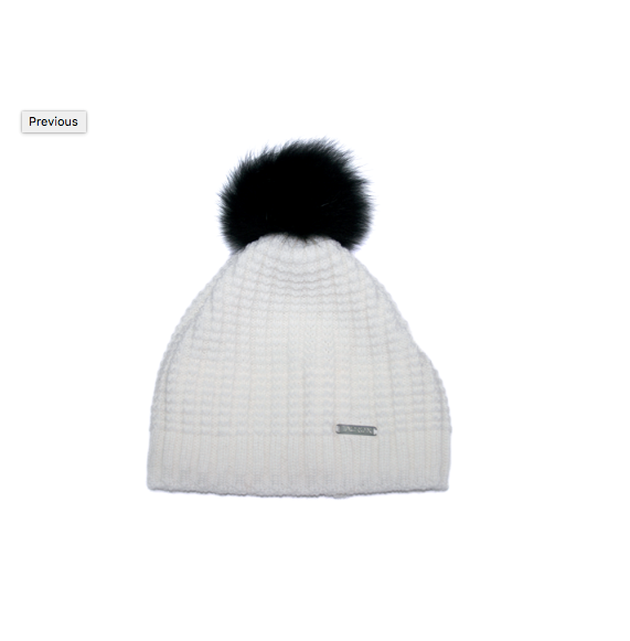 3ec25d472cd ... PomPom Hat White Black. 0 (Be the first to add a review!)