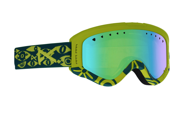 f348741f70 Anon Tracker Junior Kids Ski Goggles Eye   Green Amber Lens £45.00