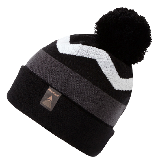 Ziener Izaak Mens Beanie Bobble Hat 2019 Black. 0 (Be the first to add a  review!) 3f18b622fbd
