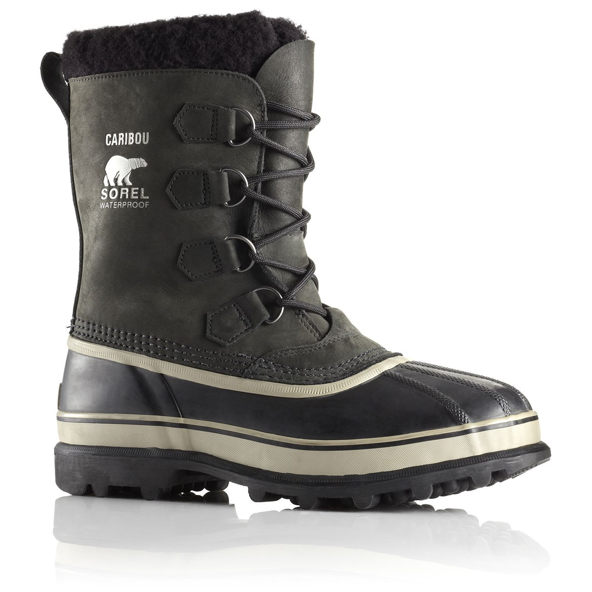 2396610b100 Sorel Caribou Mens Snow Boots Black Tusk. 0 (Be the first to add a review!)