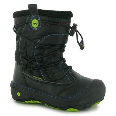 b340f359127 HiTec Equinox Boys Snow Boot Black