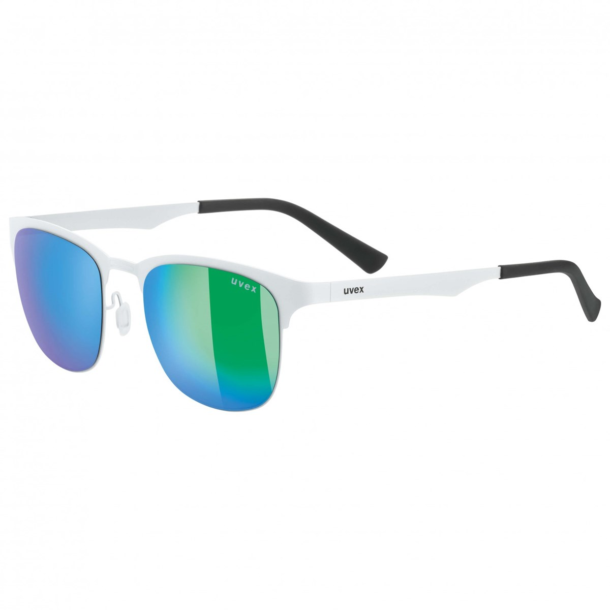 edb7d112f9a ... Sunglasses 2019 White  Mirror Green Lens. 0 (Be the first to add a  review!)
