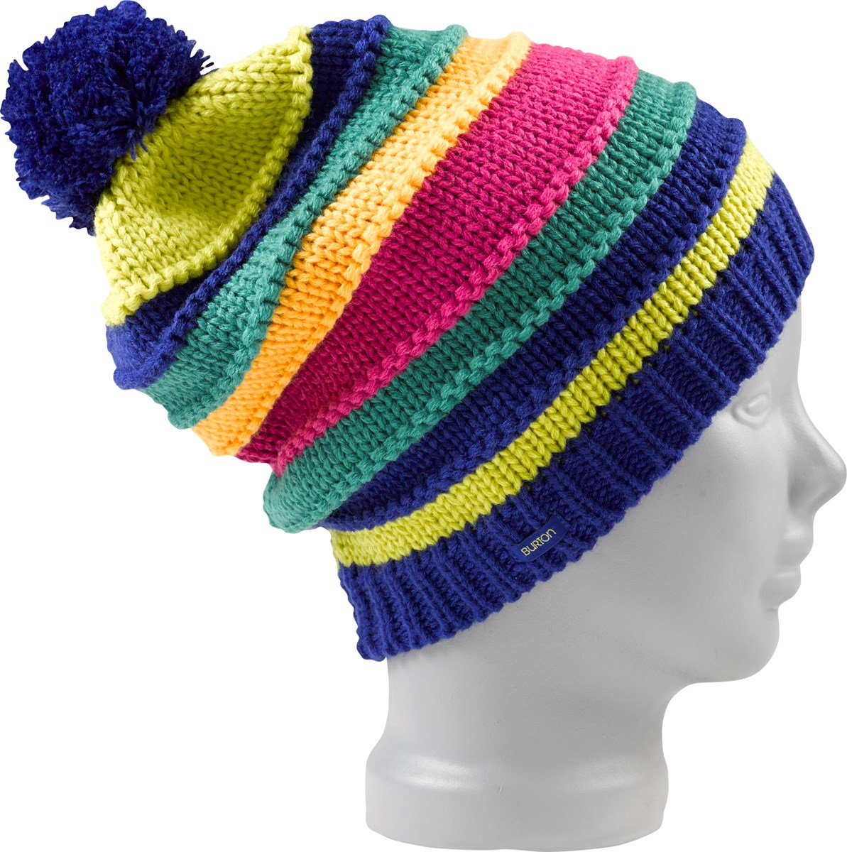 4a1cb7bf259 Burton Candy Stripe Ladies Beanie Surf The Web. 0 (Be the first to add a  review!)